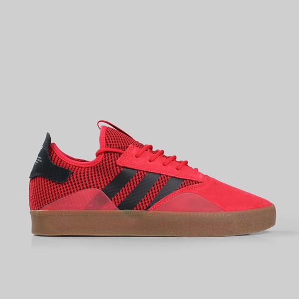 adidas Skateboarding 3ST.001, Scarlet-Core Black-Gum, 8