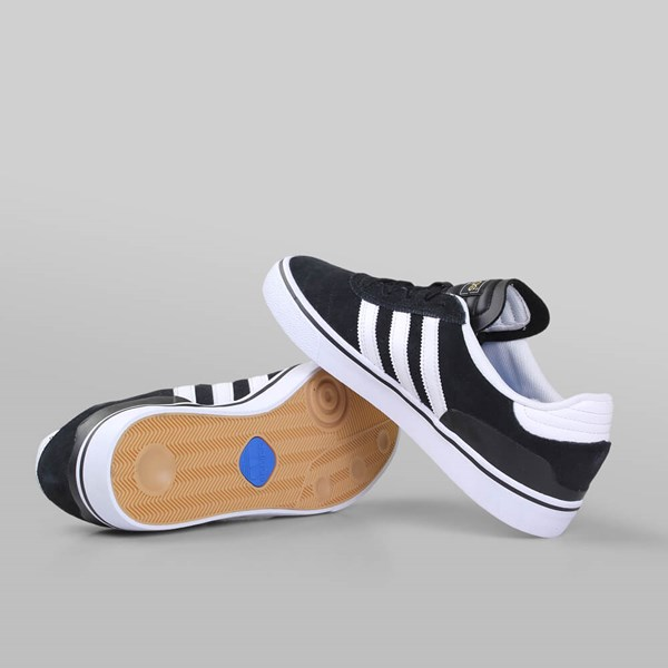 wholesale dealer cf135 b61dc ADIDAS BUSENITZ VULC BLACK WHITE BLACK