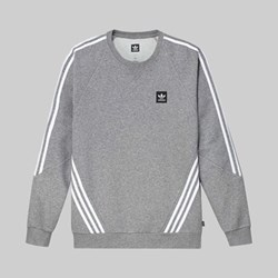 ADIDAS INSLEY CREW SWEAT CORE HEATHER GREY
