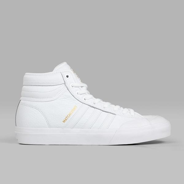 save off cde30 24a56 ADIDAS MATCHCOURT HIGH RX2 WHITE WHITE GOLD MET
