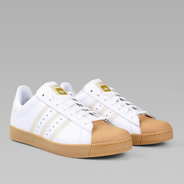 Adidas Superstar Vulc Adv Sneakers (Bordeaux / White) red Size: 7