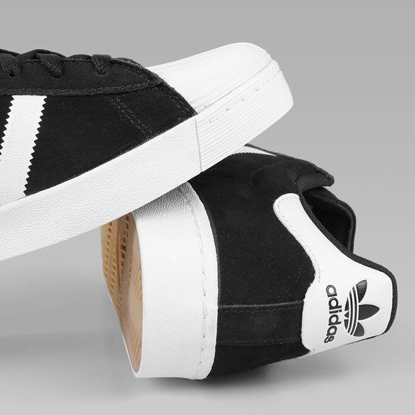 igcgl ADIDAS SUPERSTAR VULC CORE BLACK WHITE GOLD | Adidas Skateboarding