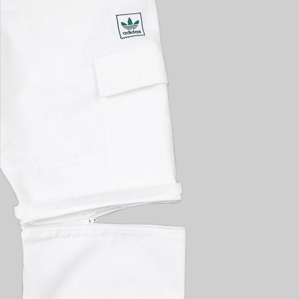 ADIDAS TYSHAWN JONES CARGO PANTS WHITE