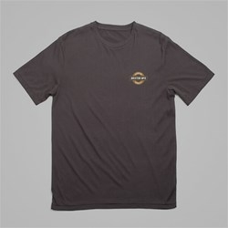 BRIXTON NEWWLL SS T-SHIRT WASHED BLACK