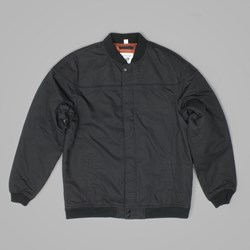 e9efc8815c BRIXTON X HARDLUCK FAST HL JACKET BLACK   Brixton Jackets