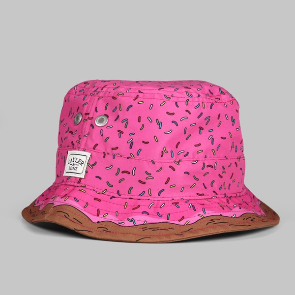 C S Munchies Bucket Hat Pink Donut  67aead92f26