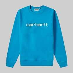 CARHARTT CREW SWEAT PIZOL WHITE