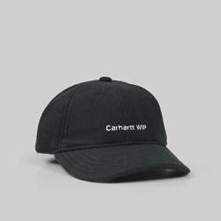 606753d8469 ... CARHARTT BOLD SCRIPT LOGO CAP BLACK