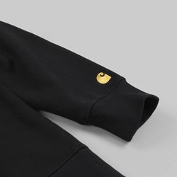CARHARTT CHASE CREW SWEAT BLACK GOLD