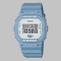 G SHOCK WATCH DW-5600DC-2ER LIGHT DENIM