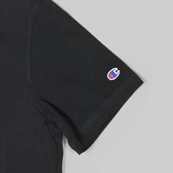 CHAMPION REVERSE WEAVE T-SHIRT BLACK