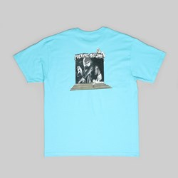 FUCKING AWESOME PORTAL TEE LAGOON BLUE