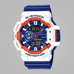 G SHOCK WATCH GA-400CS-7AER WHITE BLUE