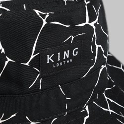 KING ETHICS BUCKET HAT BLACK