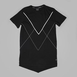 King Apparel Staple V Panel T Shirt Black