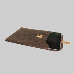 Kjore Project iPad 5 Leather Sleeve Brown