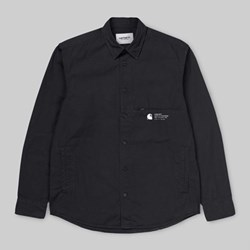 CARHARTT COLEMAN LS SHIRT BLACK WAX