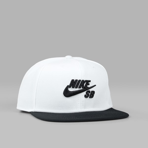 ee3c7672 NIKE SB ICON PRO CAP WHITE BLACK | NIKE Skateboarding Caps
