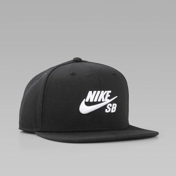 cb169adc NIKE SB ICON PRO SNAPBACK BLACK BLACK WHITE | NIKE ...