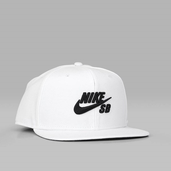 bba908e6 NIKE SB ICON PRO SNAPBACK WHITE WHITE BLACK | NIKE ...