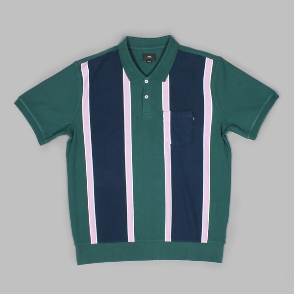 889f59583 obey watermark ss polo green multi