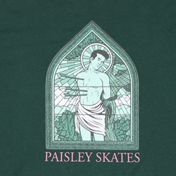 PAISLEY BY SEAN CLIVER ST.SEBASTIAN TEE GREEN