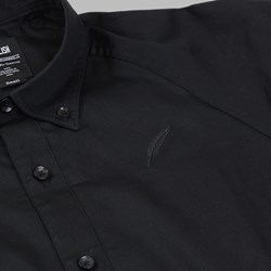 PUBLISH MARVIN OXFORD LS WOVEN SHIRT BLACK