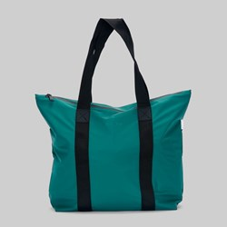 RAINS TOTE BAG RUSH DARK TEAL