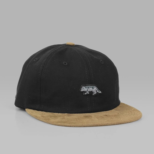 Raised by wolves geowulf polo cap black mocha raised by wolves caps