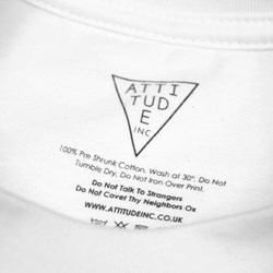 Rotation Burns SS Tee White