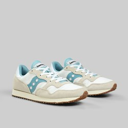 SAUCONY ORIGINALS DXN TRAINER VINTAGE WHITE BLUE