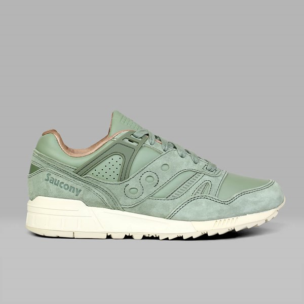 saucony grid sd oiled green