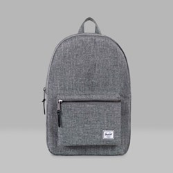 HERSCHEL SETTLEMENT BACKPACK RAVEN CROSSHATCH