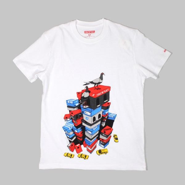 staple sneaker city t shirt white staple tees