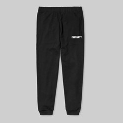 CARHARTT COLLEGE SWEAT PANT BLACK