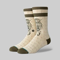 STANCE SOCKS X CHRIS COLE 'TIMES OUT' NATURAL