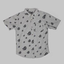 THE QUIET LIFE FUDGE DOG SS SHIRT GREY