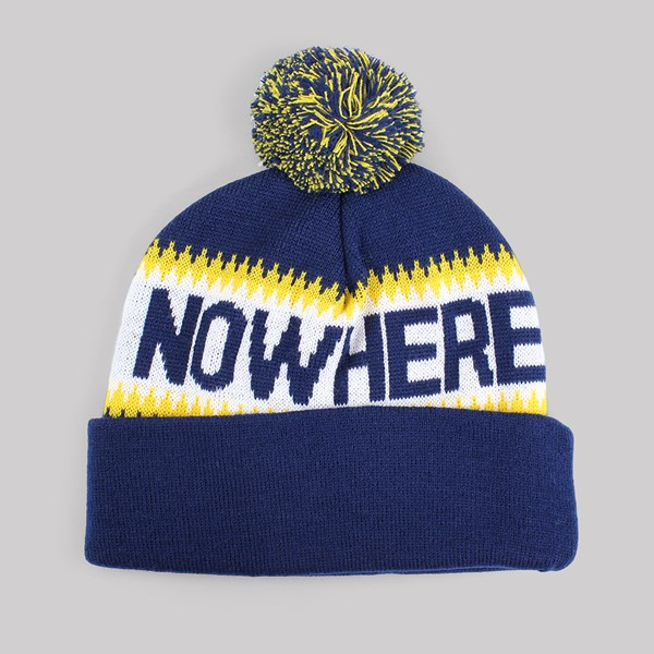 995ecca8403 THE QUIET LIFE MIDDLE OF NOWHERE POM BEANIE NAVY