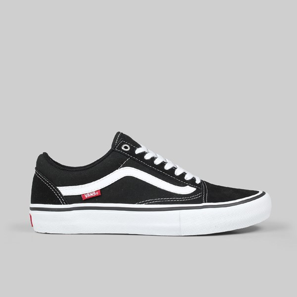 VANS OLD SKOOL PRO BLACK WHITE