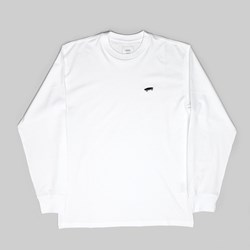 VANS SKATE LONG SLEEVE TEE WHITE
