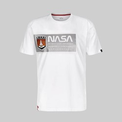 ALPHA INDUSTRIES MISSION TO MARS SS T-SHIRT WHITE