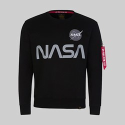 ALPHA INDUSTRIES MARS REFLECTIVE SWEAT BLACK