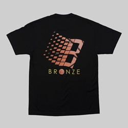 BRONZE 56K B LOGO SS TEE BLACK BASKETBALL