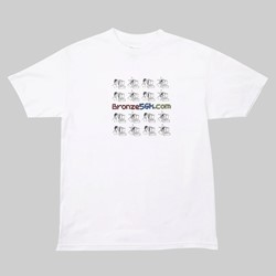 BRONZE 56K MONDAYS TEE WHITE