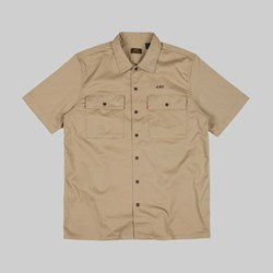 LEVI'S SKATEBOARDING SS BUTTON DOWN HARVEST GOLD