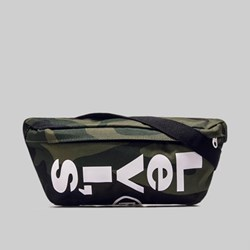 LEVI'S BANANA SLING BAG CAMO CHOCOLATE