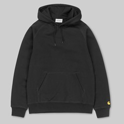 CARHARTT CHASE HOODED SWEAT BLACK GOLD