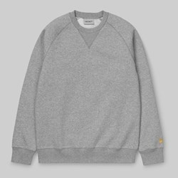 CARHARTT CHASE SWEAT GREY HEATHER