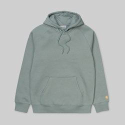 CARHARTT WIP HOODED CHASE SWEAT CLOUDY GOLD