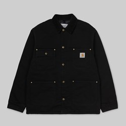 CARHARTT WIP OG CHORE COAT BLACK AGED CANVAS